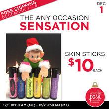 December 1st #Poshmas: The Any Occasion Sensation $10 Skin Sticks