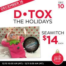 December 10th #Poshmas: Detox the Holidays Face Mask $14 Each