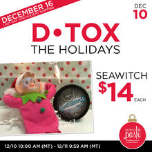 December 10th #Poshmas: Detox the Holidays Face Mask $14 Each