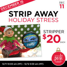 December 11th #Poshmas: Strip Away Holiday Stress with Face Stripper $20 Each