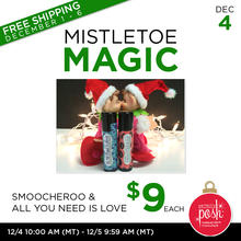 December 4th #Poshmas: Mistletoe Magic $9 Each PLUS Free Shipping
