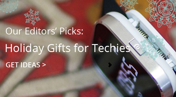 Groupon Christmas Gifts for Techies