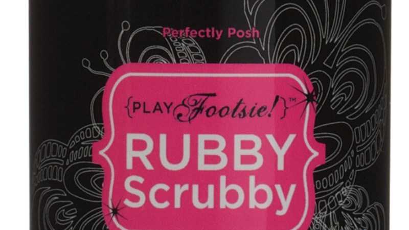 Treat your Tired Feet with Rubby Scrubby Foot Scrubber