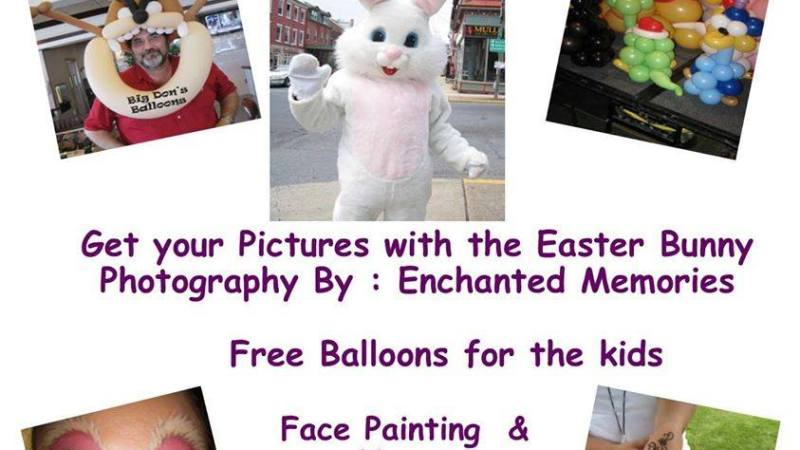 Easter Bunny Hop & Shop 3/22-Warren