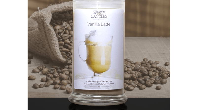 Enjoy the Scent of Natural Soy Vanilla Latte