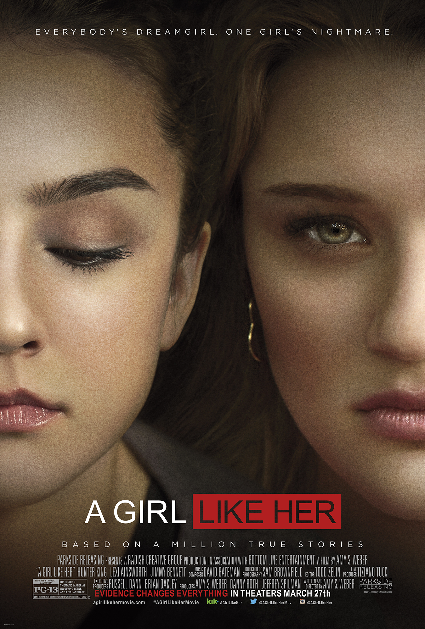 A Girl Like Her Is a Movie About Bullying….Opens in Theaters March 27th