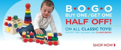 MelissaAndDoug.com Buy One Get One Half Off {Limited Time}