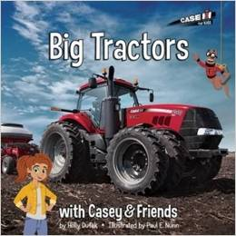 Big Tractors with Casey & Friends by Holly Dufek {Book Review and Giveaway Ends 6/3}