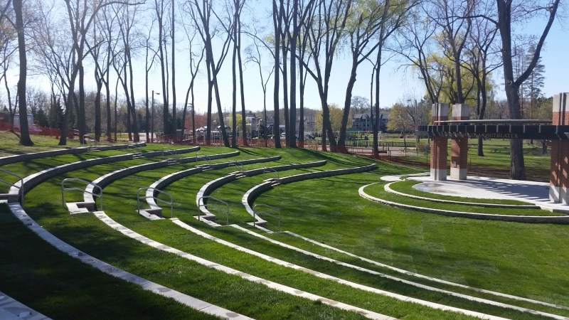 LaFontaine Family Amphitheater opens in Central Park 5/28-Milford