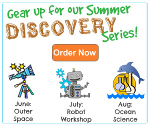 Sneak Peek! Introducing Green Kid's Summer Discovery Series!