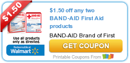 Terrific Tuesday Savings: $1.50 Off Any Two BAND-AID and First Aid Products