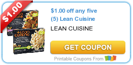 Wednesday's Coupon Savings: Lean Cuisine, Tide Detergent, Charmin Ultra Soft, and More 6/10