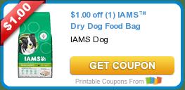 Thursday's Coupon Savings: IAMS Dog Food, Hefty Slider Bags, and More 6/11