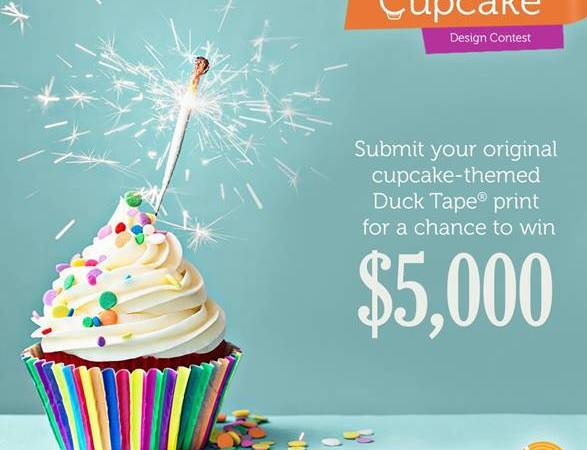 Win $5,000 by Creating a Cupcake Design For a Duck Tape Print!