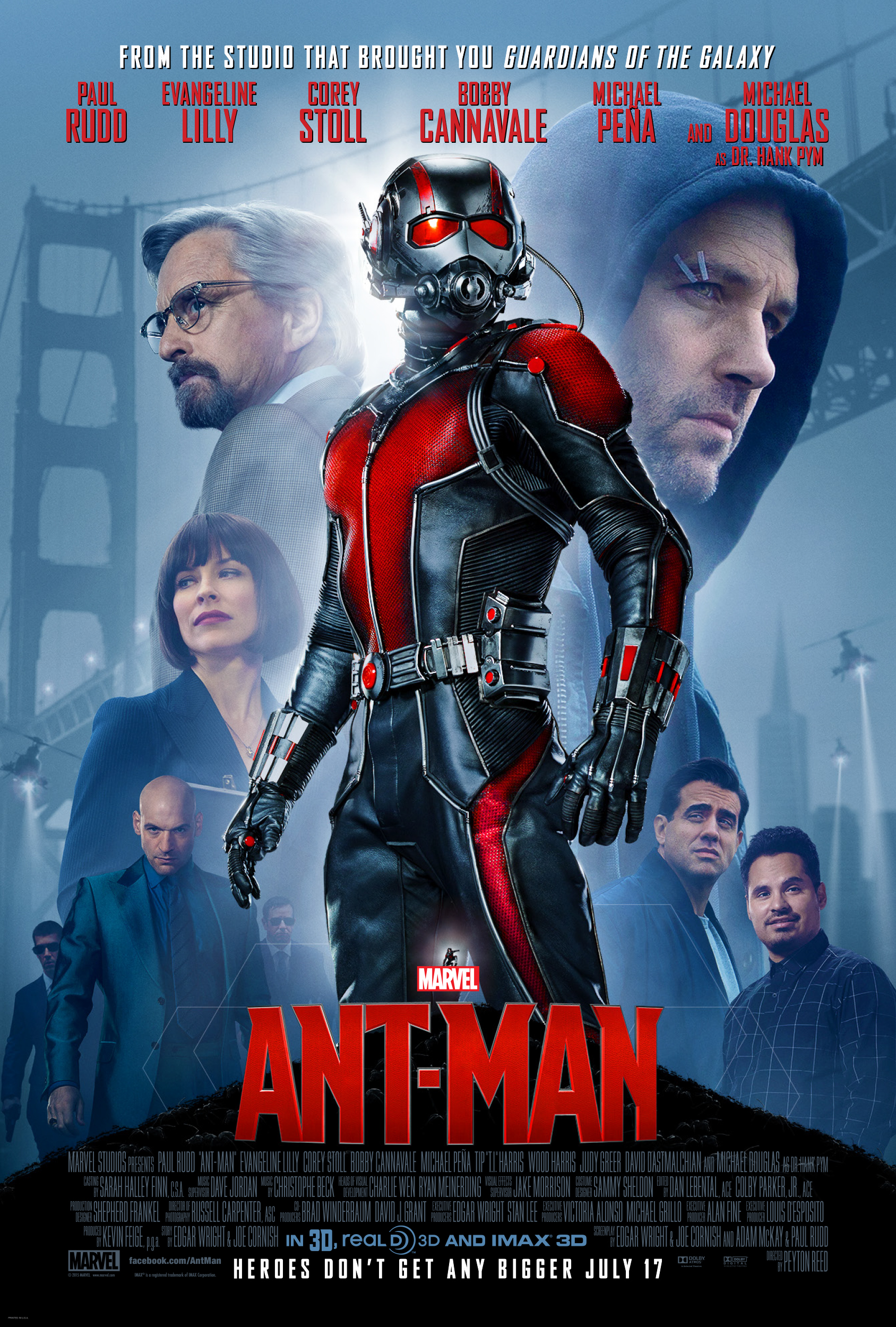 Marvel's ANT-MAN-Opens in Theaters Today 7/17 {Movie Review}