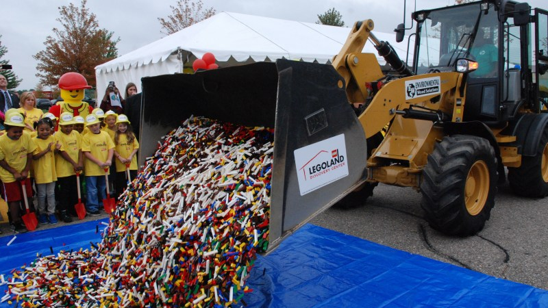 LEGOLAND Discovery Center Michigan Breaks Ground #LDCMichigan