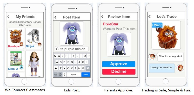NEW APP: KidsTrade – Takes the Fun of Trading Beyond the Playground