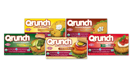 Qrunch {Good for 1 Free Box Any Flavor Qrunch Burgers or Toastables} Flash Giveaway Ends 12/4