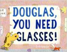 Douglas, You Need Glasses {Book Promotion}