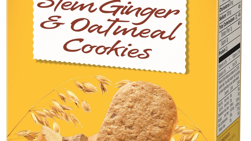 Nairn's Gluten Free Stem Ginger & Oatmeal Cookies {Review}