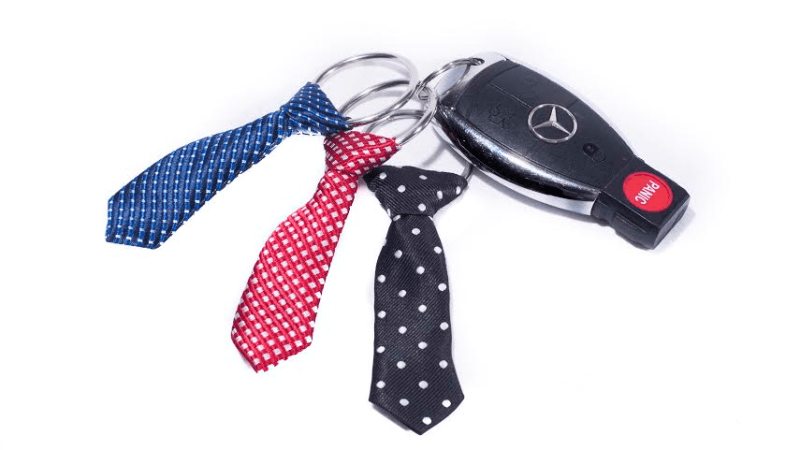 Celebrate Father's Day with Miniature Tie Keychains {Review}