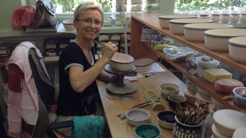 8th Annual Polish Pottery Party and Sale in Downtown Milford, Aug. 11-14