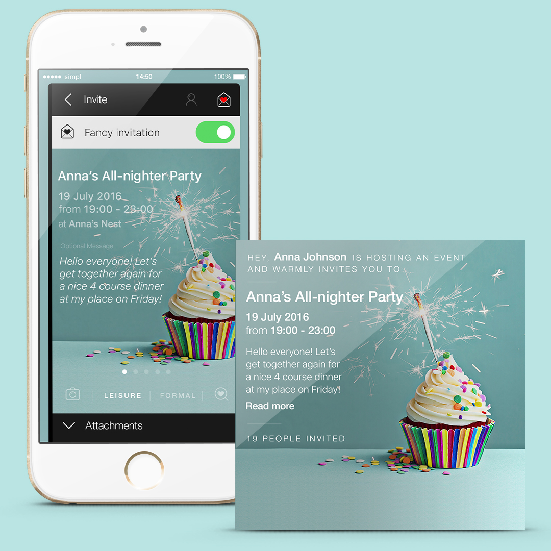 Newly Launched Calendar App, Simpliday, Announces Latest Model With Enthusiastic Invitations