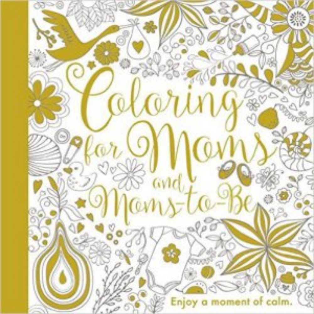 Coloring for Moms and Moms-to-Be {Book Promotion}