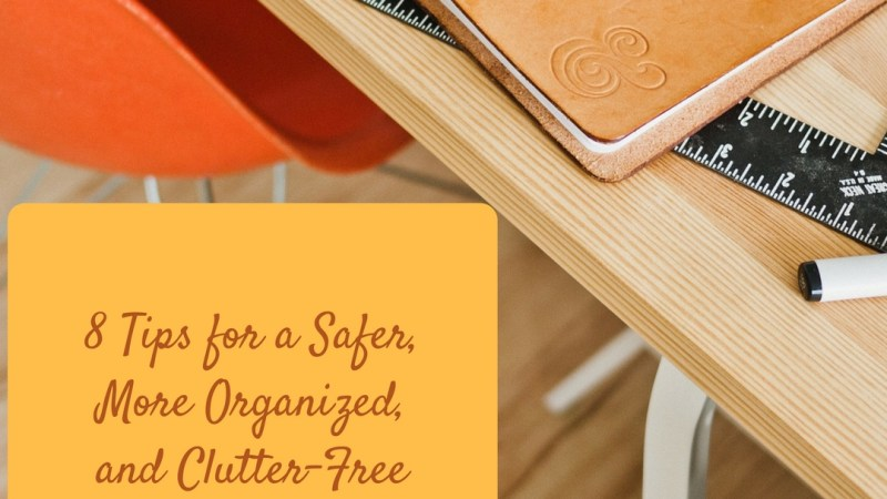 8 Tips To Keep The Basement Safer, More Organized, and Clutter-Free!
