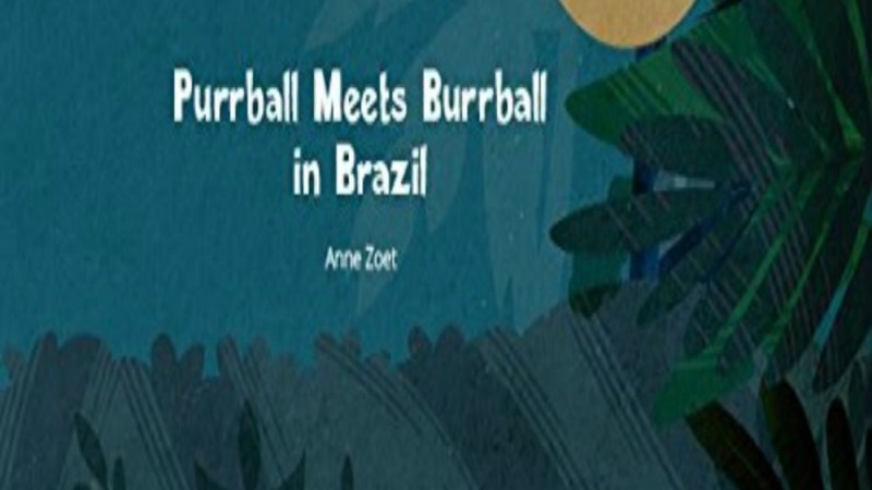 Purrball Meets Burrball in Brazil {Book Promotion}