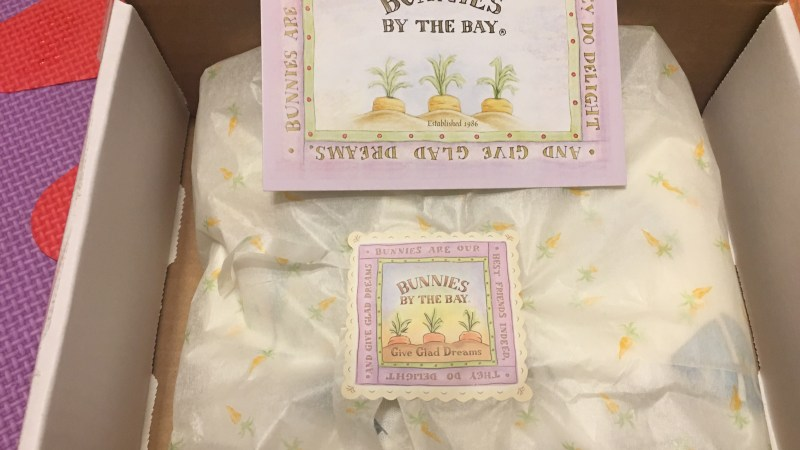 Bunnies by the Bay Blanket Review PLUS a $100 #bunniesbythebay Gift Card (e-gift card) GIVEAWAY Ends 4/16