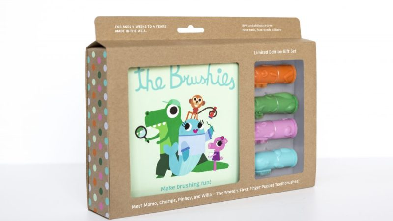 """""""The Brushies"""" – The World's First Finger Puppet #ChildrensToothbrush"""