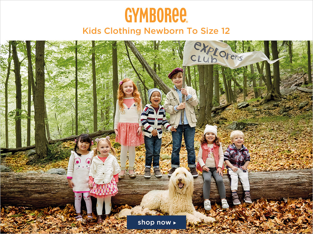 #Gymboree: Friends and Family! EXTRA 25% Off Ends 3/5