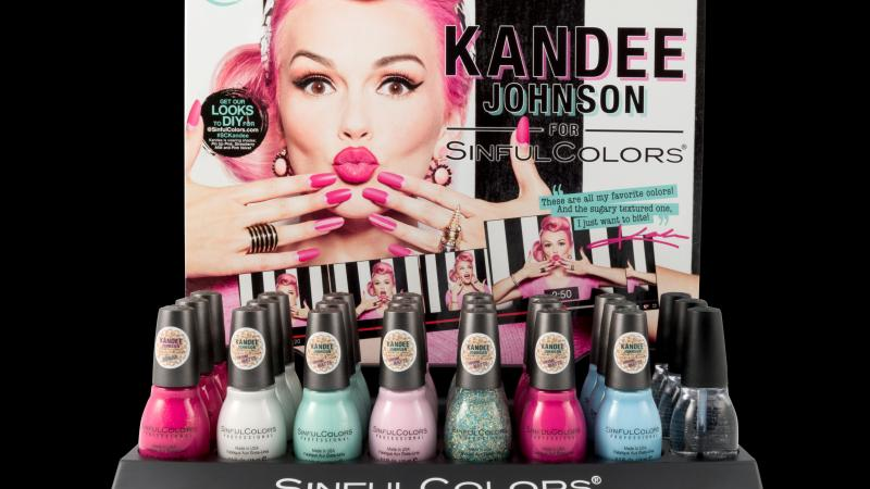 Nail Polish Fun with Kandee Johnson's #SinfulColors {Mommy Review}