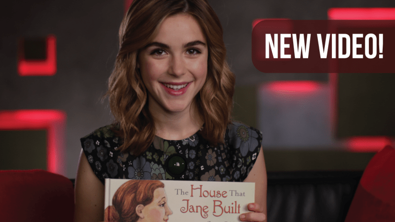 Kiernan Shipka Reads Children's Book to Celebrate #WomensHistoryMonth