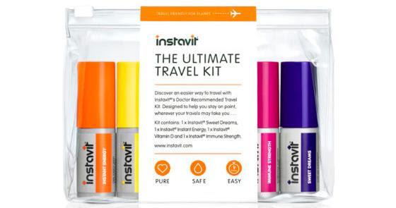 Instavit Spray Vitamins On The Go #TravelKit Released