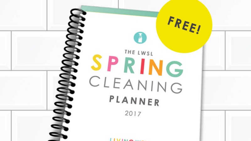 Free #SpringCleaning Resources! {LIMITED TIME} Hurry and Get Yours Now!