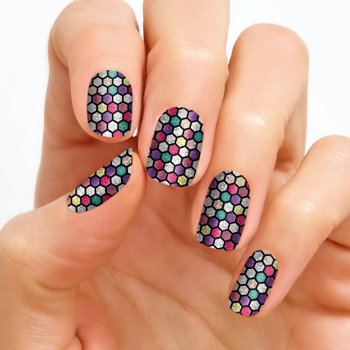 Our Experience with Color Street Nail Strips-Florentine Mosaic {Review}