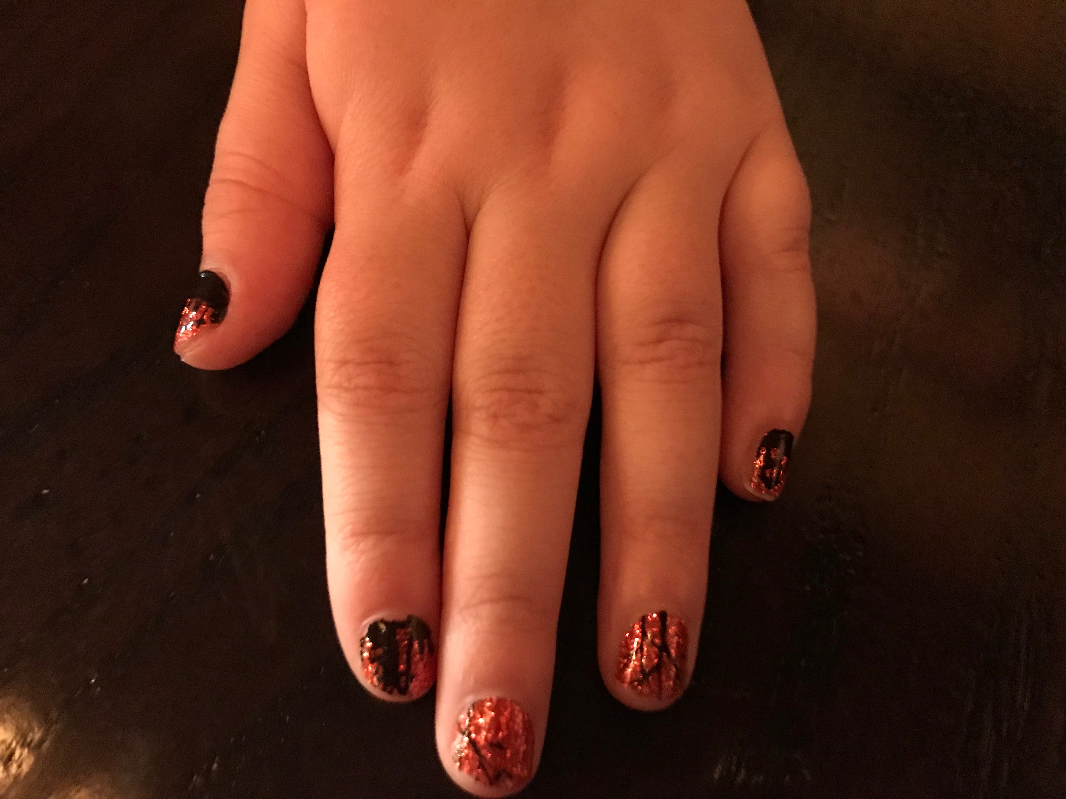 Sporting Our Halloween Nails By Colorstreet Disney World Plus Christmas Promos Michigan Mama News