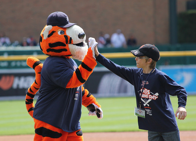 6th Annual Kids Opening Day at Comerica Park #MIKidsCan 4/15