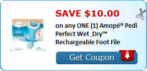 Daily Coupon Deals: Save $10.00 on ONE Amope Pedi Perfect Wet Dry #CouponAd #AffiliateLink