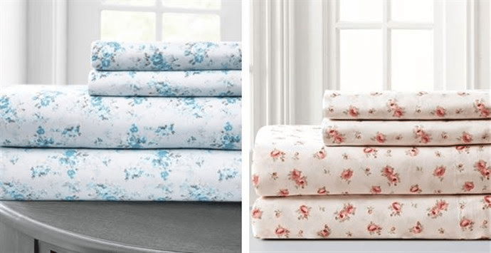 Printed Sheet Sets | Free Shipping Was $79.99 – Now $24.99 + Free Shipping! Ends 6/16