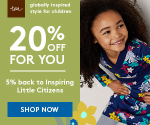 20% Off For You, 5% Back to Inspire Citizens Ends Aug. 5