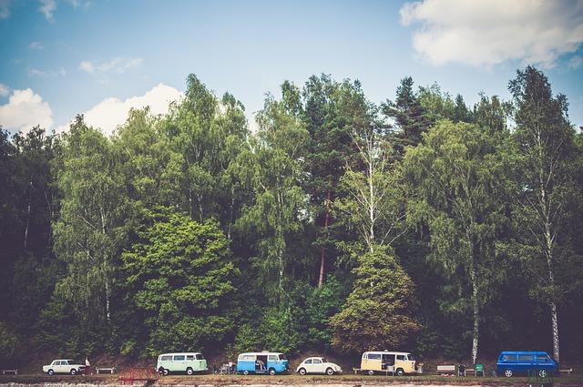 Summer Camping Road Trip