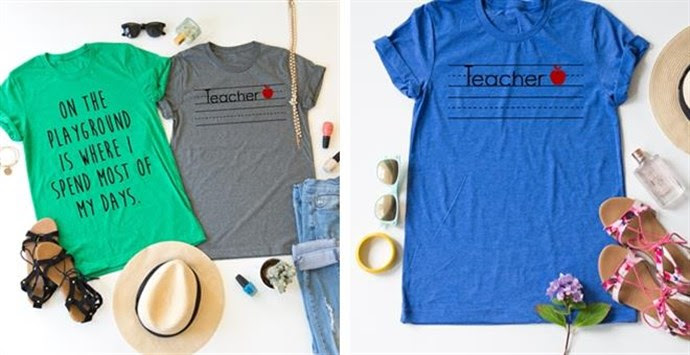 Teacher Playground Tee – Was $27.99 – Ships for $17.98! Ends 8/15/18