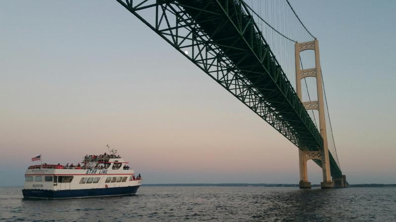 Star Line Mackinac Island Hydro-Jet® Ferry to Offer Service Between Mackinaw City and St. Ignace for Labor Day Mackinac Bridge Walkers, Every Hour on the Hour