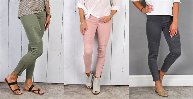 Moto Ankle Pants | 15 Colors – Was $58.99 – Ships for $33.98! Ends 8/23/18