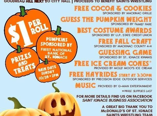The Great Pumpkin Roll 10/27/18-St. Ignace
