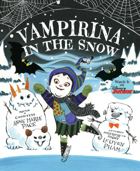 Vampirina in the Snow-Book Showcase