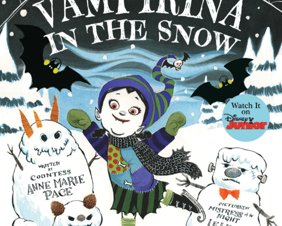 Vampirina in the Snow-Book Showcase
